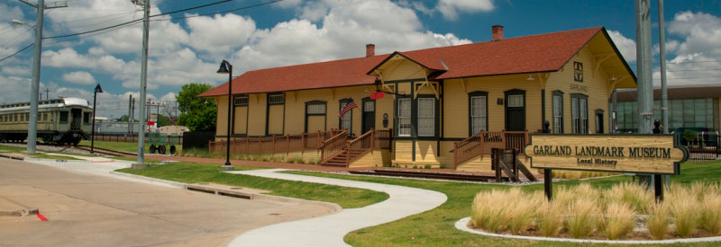 The Garland Landmark Museum in Garland, Texas