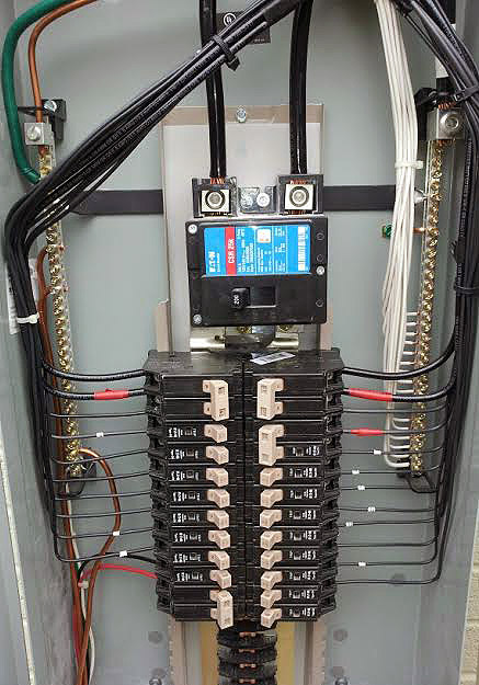 Replacement Of Old Breaker Panel