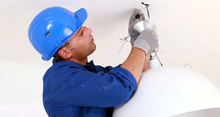 Lighting fixture installation services Texas Pettett Electric