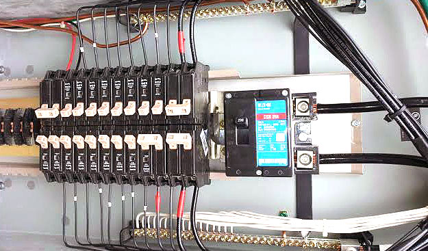 Residential Electrical Breaker panel upgrade in Texas by Pettett Electric
