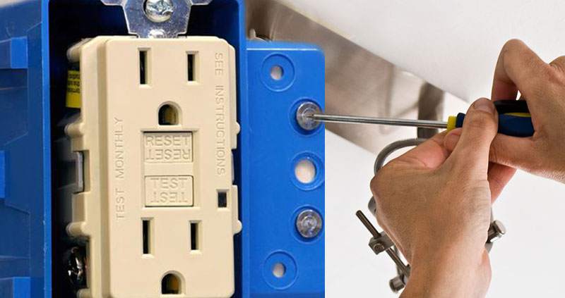 residential GFCI outlet repair in Dallas by Pettette Electric